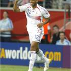 Thierry Henry provided the game's only goal in the 57th minute.