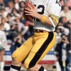 The last spot on this list came down to Bradshaw and Roger Staubach, with the Steelers Hall of Famer getting the edge because of his four Super Bowl rings. Like many of the quarterbacks on this list, Bradshaw had a unique ability to keep his cool late in the game, and it rubbed off on his teammates as the Steelers dominated the 1970s.