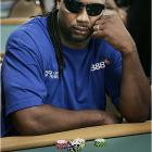Would you really want to get caught bluffing former heavyweight boxing champion Lennox Lewis?