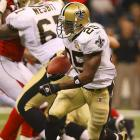 Last week: No. 1 <br><br>Bush has been slow and steady for the Saints, which is just fine as long as they keep winning. For the most part, he looked decisive in running for 53 yards on 13 carries Monday night in New Orleans' huge win over Atlanta.