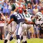 Last week: unranked <br><br>His tackle of Daunte Culpepper was changed to a sack, which ties him for the lead among rookies with two. Not bad for a seventh-round pick out of Samford. Finnegan had a huge sack of Chad Pennington that almost helped the Titans catch up to the Jets in Week 1, and he's earning more and more playing time.