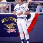 George Brett's three-run homer into the upper deck at Yankee Stadium off longtime rival Goose Gossage in the top of the seventh inning sealed a three-game sweep of New York, sending Kansas City to its first World Series.