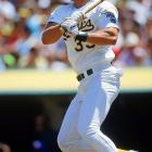 Jose Canseco became the first player to hit a home run into the fifth deck at SkyDome as Oakland took a 3-1 series lead. The official estimate was 480 feet, but most observers agreed that the distance from home plate to section 540, Row 5, Seat 4 was well over 500 feet.