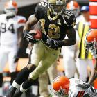 Last week: 3<br><br>Colston is tied for second in the NFL with four touchdown catches and ranks 13th with 414 receiving yards. Several teams are wondering why they let the Hofstra product last until the seventh round.