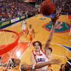 Noah averaged only 14.2 points a game last season but earned major cred by both dominating in the NCAA tournament and passing on the NBA draft, where he would have been a top-five pick. As long as he stays out of coach Billy Donovan's doghouse -- he was benched for the Gators' first exhibition game Thursday due to academic reasons -- Noah will be in the thick of the Wooden race.