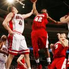 Tucker, a fifth-year senior who averaged 19.0 points last season -- part of it while wearing a protective face mask that negatively affected his shooting percentage -- is back to lead the Badgers on a run toward the Big Ten title. While Ohio State's Greg Oden may have more hype, Tucker is a heavy favorite to win the league's player of the year award.