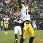 Last Week: Unranked<br><br> The rookie out of Ohio State kicks off this week's rookie barometer. Holmes had five catches for 75 yards and his first NFL touchdown in a win over the Browns last Sunday. His numbers are modest right now -- 29 catches for 455 yards -- but he should be a bigger part of the Steelers' offense in the final weeks of the season.