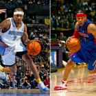 Iverson, the first overall pick in 1996 and the former face of the Sixers' franchise, was traded twice late in his career. First, in December 2006, he went to the Nuggets for Andre Miller, Joe Smith and two first-round picks. Then, after two first-round playoff exits, and with Iverson in the last year of his deal, Denver sent AI to Detroit for Chauncey Billups and Antonio McDyess one week into the 2008-09 season.