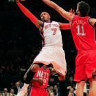 After months of speculation, the Knicks completed a deal for Anthony a few days before the February 2011 trade deadline. The trade gave New York a second All-Star to pair with Amar'e Stoudemire and provided the Nuggets with draft picks and young players in their attempt to build a new identity in the absence of their longtime franchise cornerstone.