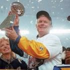 A head coach for 15 years with three NFL teams, Vermeil wore his emotions on his sleeve and was as passionate about the game as any man who walked the sidelines. He led the St. Louis Rams to a heart-stopping victory over the Titans in Super Bowl XXXIV.