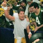After a season in which Brett Favre publicly battled the demons of alcohol and vicodin addiction, the Packer QB was allegedly seen drinking beer in New Orleans the week before the game. He took the field against New England with the dry heaves -- but they weren't from drinking. Favre was suffering from the flu, but his numbers were healthy: 14 of 27 for 246 yards, plus TD tosses of 54 and 81 yards.