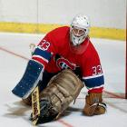 "Cocky butterfly master won the Conn Smythe and the Stanley Cup as a Canadiens rookie in 1986, earning the nickname ""St. Patrick."" Considered the most clutch goalie of his generation, he went on to set career records for wins (551), playoff wins (151) and postseason shutouts (23), retiring with four Stanley Cups."