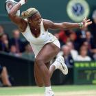 Ranked No. 2 in the world, just behind her sister at the time, Serena denied Venus a third-straight Wimbledon title while winning her first Wimbledon crown.