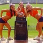 Meet Chelsea (left), a sophomore Marketing major and proud member of the Clemson Cheer Squad. When Chelsea's not rooting on her Tigers, you can find her enjoying a Will Ferrell movie or listening to country music. Wanna find out more about the life of Chelsea? Click on the 20 questions link below.