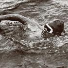 American champion Gertrude Ederle became the first woman to swim the English Channel -- a distance of more than 21 miles. Ederle not only completed the arduous crossing, she broke the men's record by almost two hours.