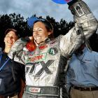 One week after Danica Patrick became the first woman to win an IndyCar event, 25-year-old Ashley Force became the first woman to win a national Funny Car event, defeating her father, John Force, in Atlanta. Women had won in the NHRA's top fuel and pro stock motorcycle classes, but none of the 11 women who competed in Funny Car over the years had even reached a final.