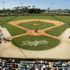 Dodgertown in Vero Beach, Fla., has been the spring training home of the Brooklyn and Los Angeles Dodgers since 1948. In the early years it was just an unoccupied World War II naval air station. Holman Stadium was built in 1953.