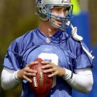 In 2002, Harrington was fresh off a knee injury that he sustained at the East-West game. The day of his combine workout he was horribly sick with the flu and his voice was barely audible. He threw lights out once he took the field at the RCA Dome. His passes, both long and short, were on the mark all afternoon. He was so impressive the Lions chose him with the third pick of the draft.
