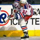 Acquired from Chicago with Brian Noonan on March 21, this grinding winger with '92 Cup finals experience was overshadowed by the deadline arrival of former Oilers star Glenn Anderson. Matteau entered Rangers lore by scoring the double-OT goal in Game 7 of the Eastern final that sent them toward their first Cup in 54 years.