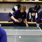 Friday 10:23AM <br> Newly acquired center Peter Forsberg, claiming never to have lost a game of ping-pong during his stint with the Flyers, takes on Tomas Vokoun (with Chris Mason once again relegated to watch from the bench). Forsberg loses. He was later beaten by Martin Erat before taking his re-match with Vokoun.
