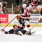 The ex-Oilers right winger would make nobody's top 10 list based on technique, but there never has been a forward this courageous (or foolhardy).
