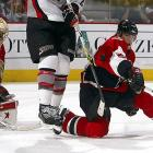 A 6-foot, 237-pound tank who is always in the way, the physical Senators defenseman is the current NHL leader in blocked shots.