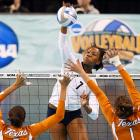 By winning its third consecutive national volleyball title on Dec. 20, 2009, Penn State made its case to be remembered as one of the greatest, if not the greatest, volleyball teams in NCAA history. Their championship victory over Texas extended the Nittany Lions' record winning streak to 102 straight matches. Penn State won seven more matches before falling to Stanford on Sept. 11, 2010. This ended the run at 109 matches -- the third-longest streak in Division I team sports, behind only the Miami men's tennis program's 137 straight victories from 1957 to '64 and the BYU-Hawaii women's tennis team's winning streak of 130 straight matches (2002-05).