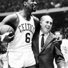 The Boston Celtics' eight consecutive NBA championships, beginning in 1959.