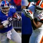 Jacobs and Droughns could have an interesting training-camp battle for the starting job, but regardless of who wins, both backs will likely get plenty of touches next season. Droughns is much smaller than Jacobs, but he still runs tough inside. Both backs will stay fresher if they share carries.