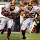 With Portis hampered by injuries last season, Betts emerged as a star, gaining 1,154 yards while averaging 4.7 yards per carry. Portis will be back this year and the Redskins are talking as if they plan to use both extensively.