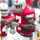 Miami needs a quarterback and could have taken Brady Quinn. Instead, new coach Cam Cameron went for the speedy Ohio State receiver/returner. Ginn didn't impress people this offseason. He hasn't recovered quickly from a foot injury he suffered in the national championship Game. But the 'Fins didn't seem to mind.