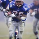 New England took a couple of defensive stalwarts in the first two rounds: cornerback Ty Law and linebacker Ted Johnson. Then it landed running back Curtis Martin in the third round. He had three solid seasons with the Patriots before he left for the Jets and ended up fourth on the league's all-time rushing list.
