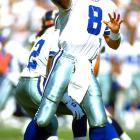The Cowboys' proud franchise bottomed out in the late 1980s, but drafting Troy Aikman No. 1 overall in the 1989 draft started a process that resulted in three Super Bowl rings. They also landed G Steve Wisniewski, FB Daryl Johnston, C Mark Stepnoski and DE Tony Tolbert.