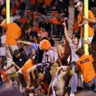 Virginia fans climbed the goalposts after an October 2005 victory over Florida State.