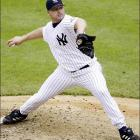 Clemens went 17-9 in 2003, his final season with the Yankees.