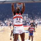 One of the most consistent power forwards to ever play, the Big E's turnaround jump shot -- often launched from the baseline -- stands behind only Kareem Abdul-Jabbar's sky hook among the most unblockable shots in the history of the game. Hayes led the NBA in scoring as a rookie in 1969 with the San Diego Rockets, and was still averaging 23 points 11 years later at the age of 34.