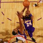 Many NBA observers believe Bryant is the best player in the game today, yet he's already put in 11 seasons without winning an MVP trophy. For years, Bryant excelled as the Lakers won three titles, but he was performing in the shadow of Shaquille O'Neal. Now, he can't seem to get the votes because the Lakers aren't good enough. Approaching his 29th birthday, Bryant likely has four or five more shots at it.