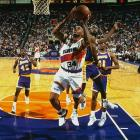 Phoenix became the only team in NBA history to lose the first two games at home and then win the next three in a best-of-five series. The top-seeded Suns needed 31 points and 14 rebounds from Charles Barkley in a Game 5 overtime victory to eliminate a Lakers team that had finished 39-43 in the regular season.