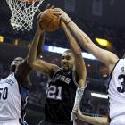 The Spurs were the West's best regular-season team with a 61-21 record, but a late-season slide (they lost eight of their last 12 games) continued through the postseason and they fell to the 46-win and eighth-seeded Grizzlies in six games. It marked only the second time in NBA history that a No. 1 seed had lost to a No. 8 seed in a best-of-seven series.