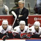 Senators coach Bryan Murray can only watch as he team falls short in the Cup finals.