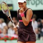 """No. 7 Ana Ivanovic took advantage of Sharapova's sloppy play and discomfort on clay, but was still surprised by her easy victory, saying, """"I was thinking the game would be much closer."""""""