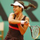 Ana Ivanovic beat two-time Grand Slam champion Maria Sharapova 6-2, 6-1 to advance to her first Grand Slam final.