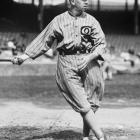 Eddie Collins became the sixth member of the 3,000-hit club on June 3, 1925, with a single off Detroit's Rip Collins at Navin Field. An unlikely superstar at 5-9, 170 pounds, Collins also had 42 hits in World Series play, batting .328 in 34 games.