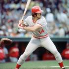 Rose became the 13th member of the 3,000-hit club on May 5, 1978, with a single off Montreal's Steve Rogers at Riverfront Stadium. Charlie Hustle collected more than 200 hits a record 10 times and remains baseball's Hit King.