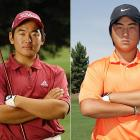 ACHIEVEMENTS: Lee (right) and Yun, both 16, ranked first and third, respectively,  among high school sophomores by Golfweek. They led Hamilton High to a state championship, with Lee winning the individual title and Yun finishing third  overall. Lee also qualified for the U.S. Open through the U.S. Junior  Amateur. (He was 20 over par after 32 holes at Oakmont when he withdrew with a wrist injury.)<br>ETA: Lee on the PGA Tour by 2009; Yun by  2011. (Lee turned pro after the U.S. Open; he can't try for a PGA Tour card until he is 18, but will play in  Nationwide tour events and accept PGA sponsors' exemptions.)
