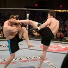 This was the fight that got many Americans excited about the UFC. Bonnar and Griffin fought on a live Spike TV special to determine the light heavyweight winner of the first season of the Ultimate Fighter. Both men gave it all they had, in an exhausting standup war. Griffin won via decision, and fans embraced both men and the sport.