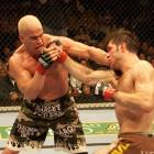 Tito Ortiz left the UFC for over a year prior to this fight, and it was important he make a good impression in his return. Ortiz looked explosive early, and was able to withstand Griffin's charge in the second and third rounds to secure a decision win.