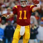 Leinart was 37-2 in three years as a starter, including the Trojans' 13-0 run to the 2005 national title, the same year he won the Heisman. Leinart left USC as the school's all-time leader in touchdown passes and completion percentage.