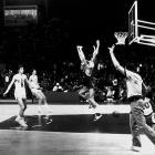 The USA team had a 63-game Olympic winning streak and likely would have won this game too if not for the British FIBA official telling the timekeeper to put three seconds back on the clock. That allowed Aleksandr Belov to rise between Americans Jim Forbes and Kevin Joyce and score the winning lay-up as time ran out for good.