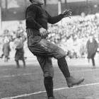 Thorpe won gold medals in the decathlon and pentathlon at the 1912 Olympics in Stockholm, but was stripped of both medals after it was revealed he had been paid small sums of money to play baseball in 1909 and 1910, when Olympic rules prohibited professional athletes from participating. Many said Thorpe, one of the greatest all-around athletes of all time, was discriminated against because of his ethnic background, a hybrid of Irish, French and American Indian heritages. In 1983 his results were reinstated by the IOC and his medals were returned to his children.